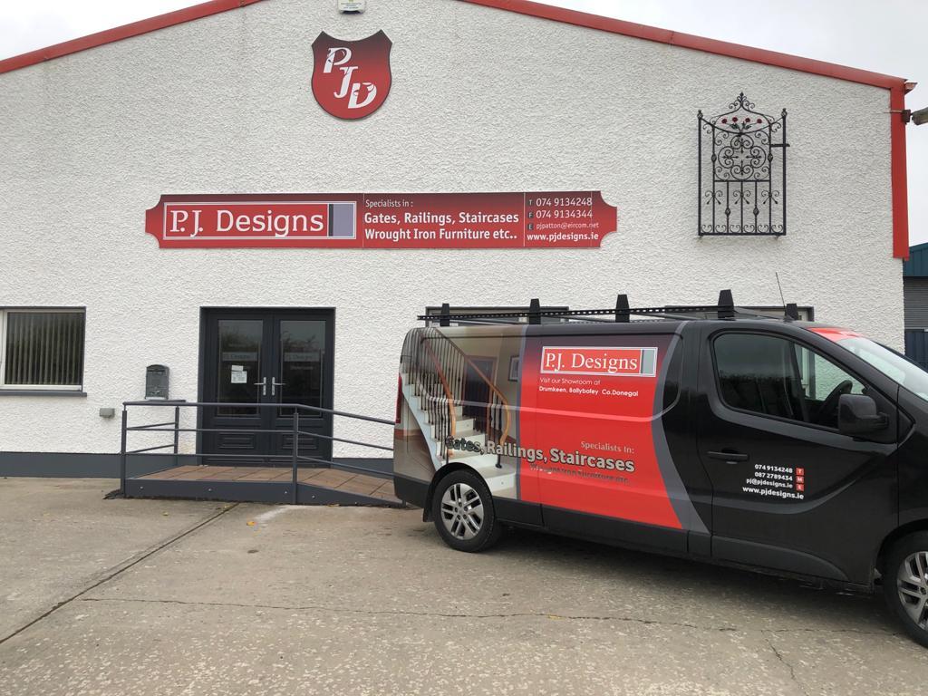 PJ Designs Drumkeen, Co.Donegal